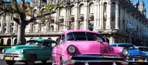 Los viejos Cadillac de los '50 en Cuba