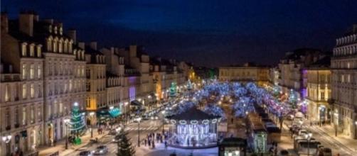 Marché de noël place Tourny Bordeaux