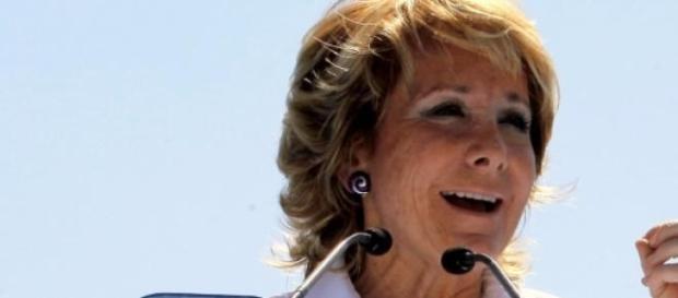 La política española Esperanza Aguirre
