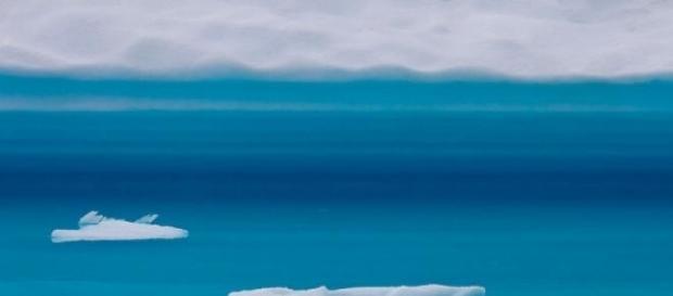 O gelo do ártico derreteu 75% nos últimos 30 anos.