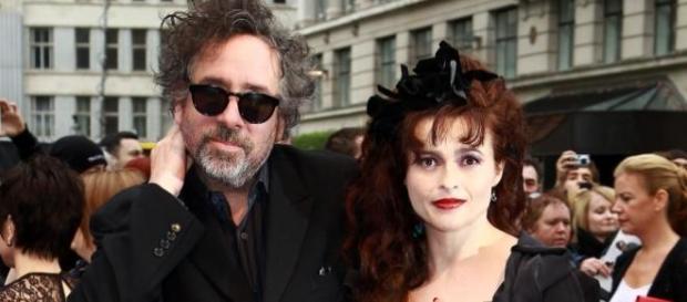 Tim Burton e Helena Bonham Carter.