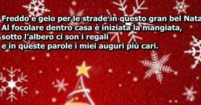 Frasi Natale Rime.Frasi Di Auguri Di Buon Natale In Rima