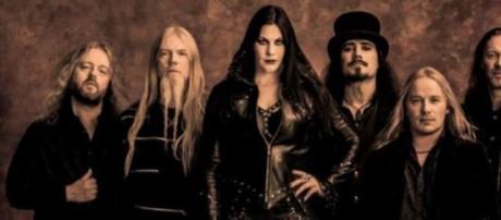 Nightwish com a nova vocalista, Floor Jansen.