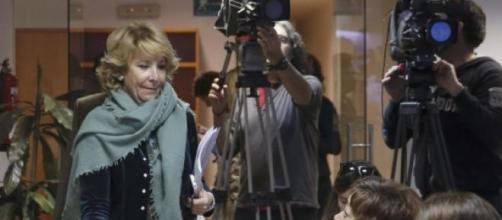 Esperanza Aguirre. Presidenta del PP en Madrid