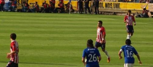 Marco Fabian en su etapa con Guadalajara