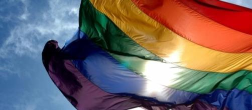 Picture of the LGBT community's Rainbow Flag