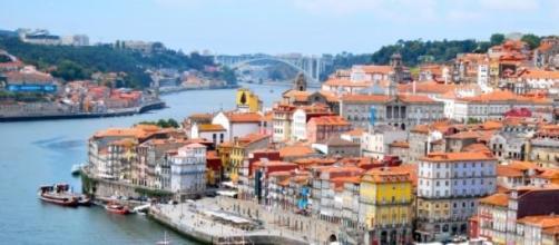 Porto visto a partir da ponte Luís I