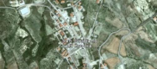 San Giuliano di Puglia vista dall'alto