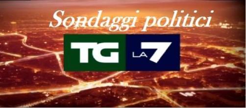 Sondaggi politici elettorali 22/12/2014 EMG-TG LA7