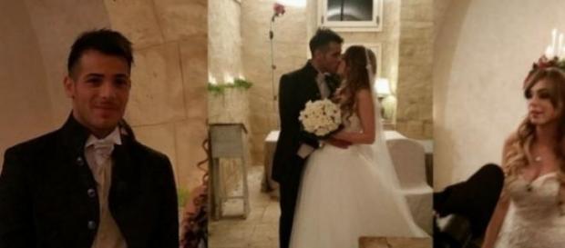A Uomini e donne le nozze di Aldo e Alessia.