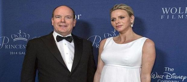 Charlene y Alberto principes de Monaco