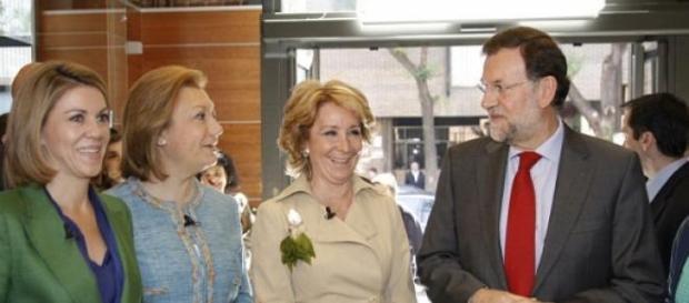 Esperanza Aguirre vuelve a escena
