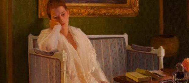 L'ennui, par Gaston de la Touche (1893)