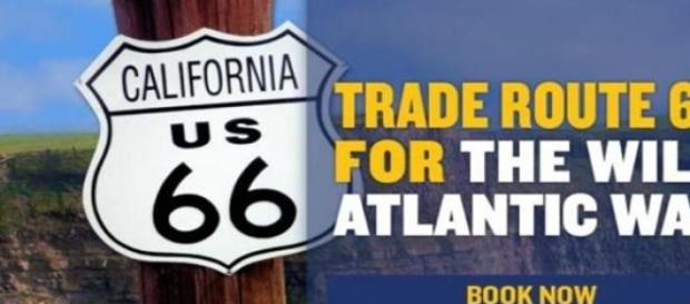Ryanair Low Cost  trade route 66