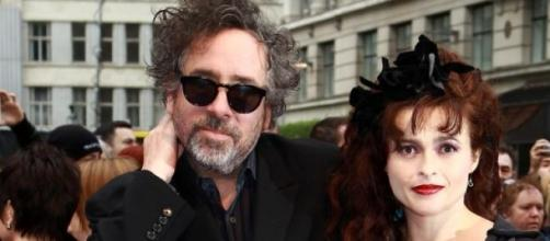 Tim Burton y Helena Bonham