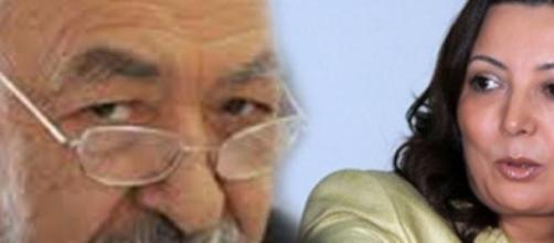 Wided Bouchamaoui - & Rached Ghannouchi