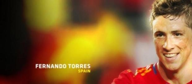 Fernando Torres con la selección española