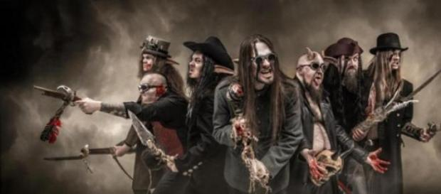 Finlandeses Finntroll de regresso a Portugal.