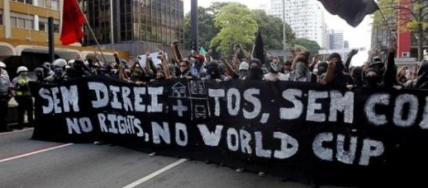 Manifestantes prometem que não haverá Copa