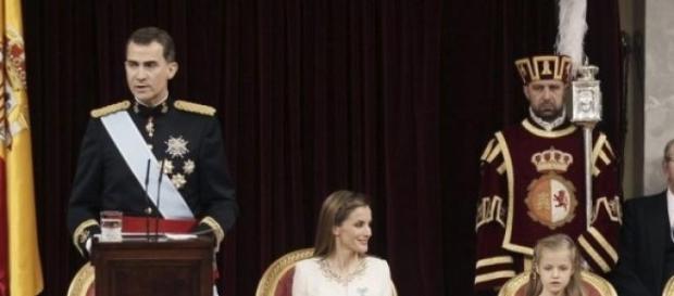 Rey Felipe VI el día de su proclamación