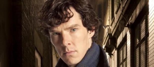 Una imagen de Benedict como Sherlock