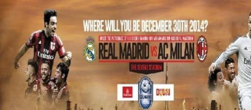 Dubai Challenge Cup 2014: Milan-Real Madrid in TV