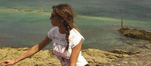 Gaia Molinari in una foto dal suo profilo Facebook