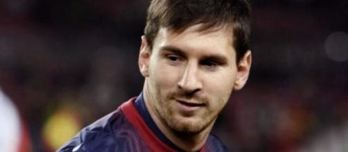Leo Messi, batiendo records.