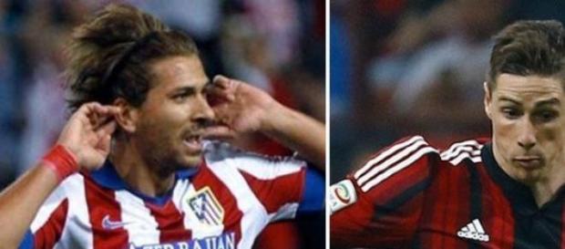 Alessio Cerci e Fernando Torres
