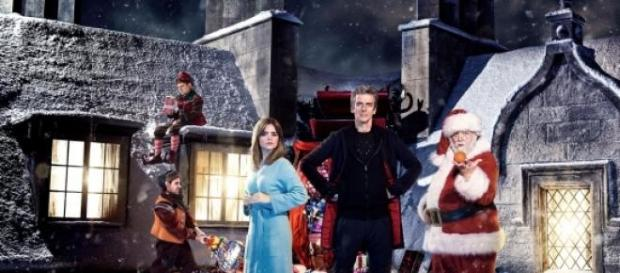 Doctor Who Christmas Special promo image