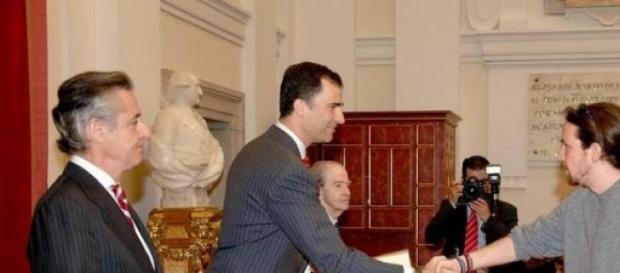 Foto de archivo donde coincidieron los dos.