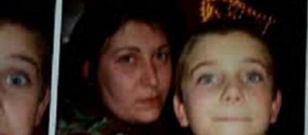 San Severino Marche: la donna con suo figlio