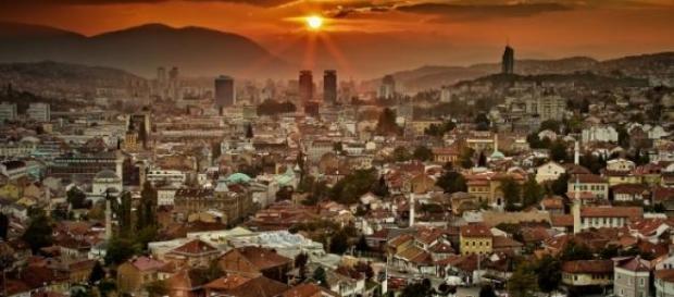 Sarajevo, capitale della Bosnia.