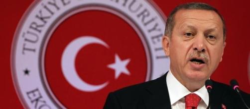 El presidente Recep Tayyip Erdogan