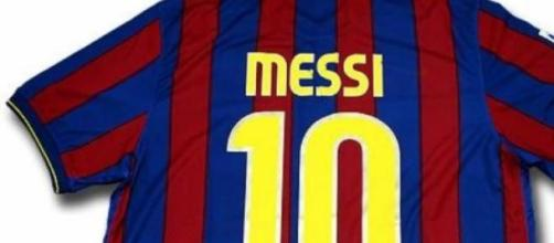 La maglia di Lionel Messi