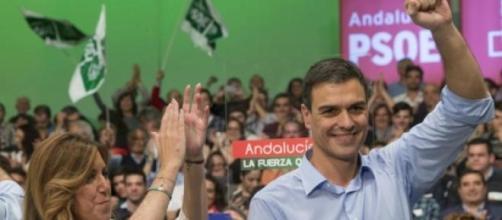 Pedro Sánchez ignora a Susana Díaz