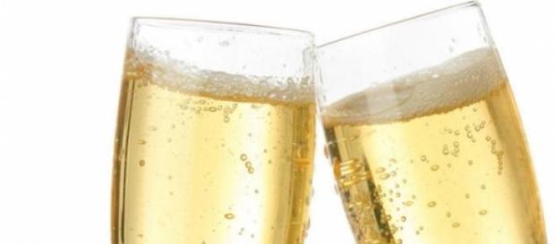 Copas de champán  para brindar por el 2015