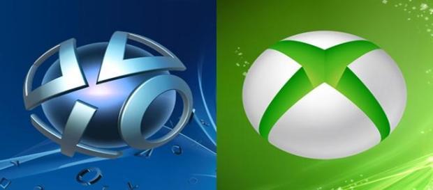 Sony PlayStation y Xbox Live de Microsoft