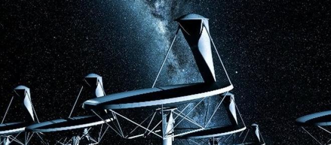 """<p><span style=""""text-align: justify;"""">Um conjunto altamente sensível de pratos e antenas, irá actuar como um telescópio gigante - o maior do mundo.</span> </p>"""