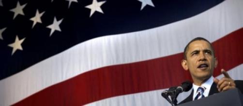 Barack Obama foi visado pelo regime de Pyongyang.