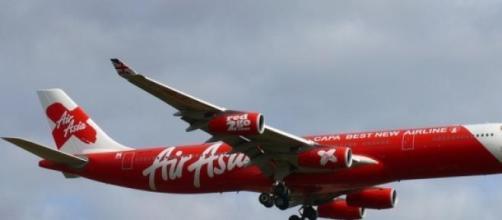 L'avion d'AirAsia, disparu sans laisser de traces.