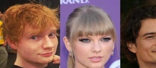 Sheeran afirma que Swift-Bloom harían buena pareja