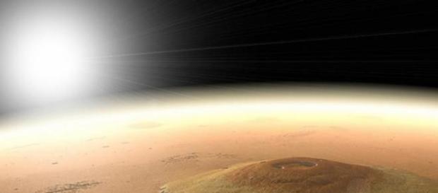 Cianobacterias para cambiar la atmósfera de Marte