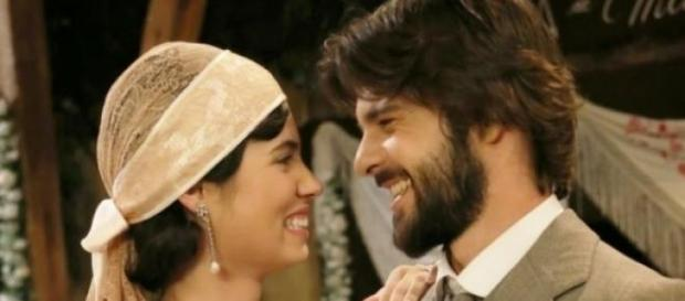 Gonzalo e Maria diventano marito e moglie