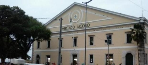 Mercado Modelo centro histórico e cultural