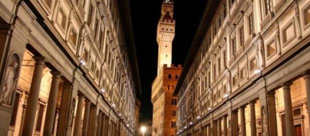 Musei fiorentini: protesta davanti agli Uffizi