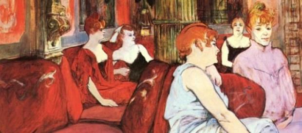 Peinture de Toulouse-Lautrec