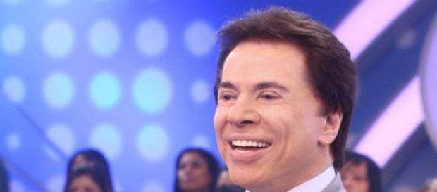 Silvio Santos e seu sorriso inconfundível