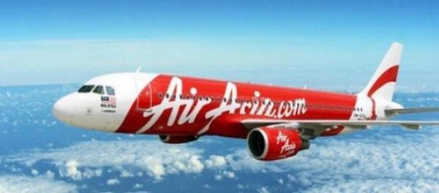 Un aereo della compagnia AirAsia