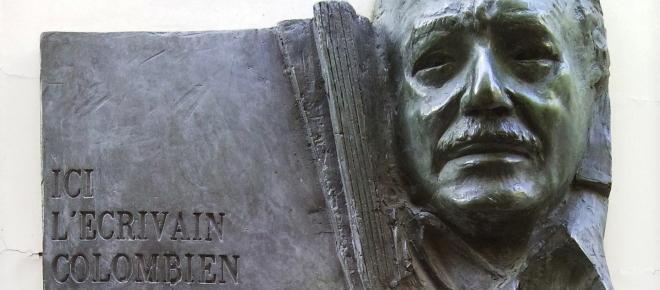 escultura homenaje a Gabriel García Márquez
